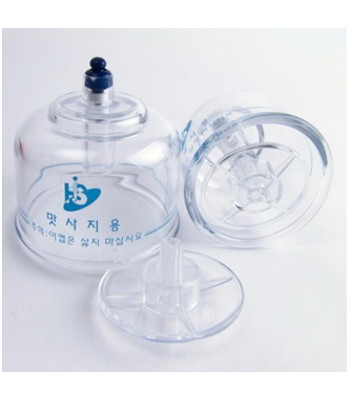 Cupping Set - Massage (2 Pcs.) (Hansol)