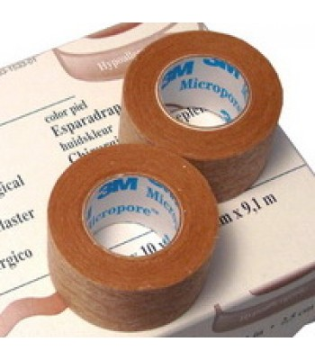 3M Micropore Surgical Tape - Coloured - 2.54cm x 9.14m